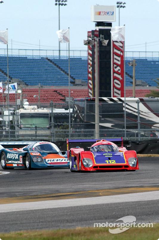 92 Spice GTP, GTP1 et 90 Porsche 962 C, GTP1