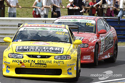 #427 Garry Rogers Motorsport Holden Monaro CV8: Nathan Pretty, Garth Tander, Cameron McConville, Steven Richards, and #05 Garry Rogers Motorsport Holden Monaro CV8: Peter Brock, Greg Murphy, Jason Bright, Todd Kelly