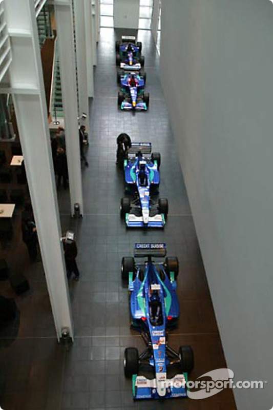 The ground floor will house the future Sauber museum
