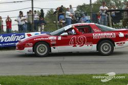 Race winner Mark Sandridge