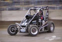 Cory Kruseman drove Andy Bondio's Barnes powered Midget to his second Chili Bowl championship at Tulsa Expo Raceway Saturday night