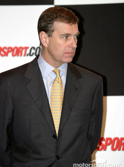 HRH The Duke of York welcome address on Autosport Stage