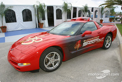 Pace car for the Budweiser Shootout race