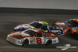 Dale Earnhardt Jr., Jimmie Johnson and Jeff Gordon