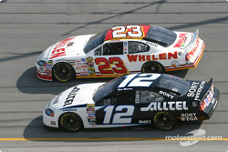Dave Blaney and Ryan Newman