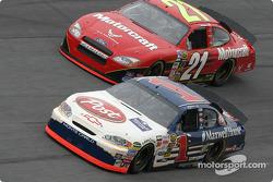 John Andretti and Ricky Rudd