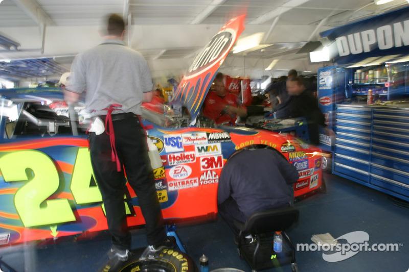 Zona de garage de Hendrick Motorsports