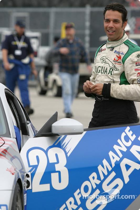 Tomy Drissi se prépare pour la course