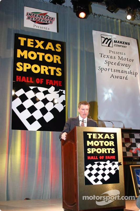 Le discours de Johnny Rutherford