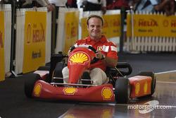 Shell press conference: Rubens Barrichello