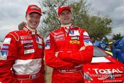 Harri Rovanpera and Marcus Gronholm