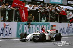 Third place finish for Jenson Button