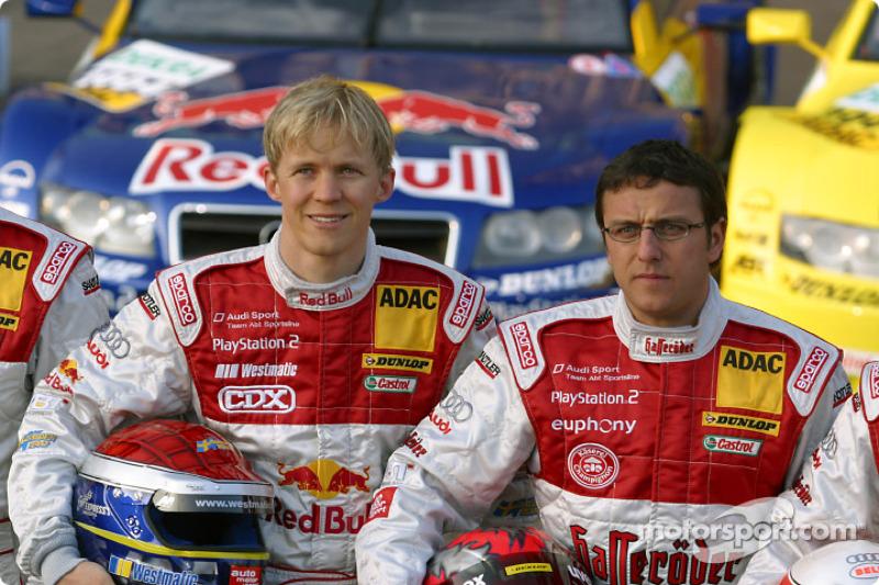 Mattias Ekström and Christian Abt