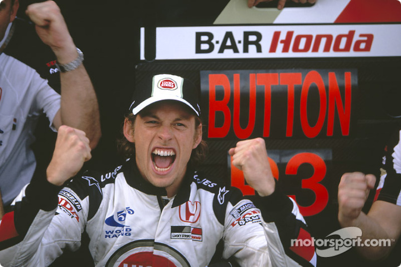 3. Jenson Button, BAR