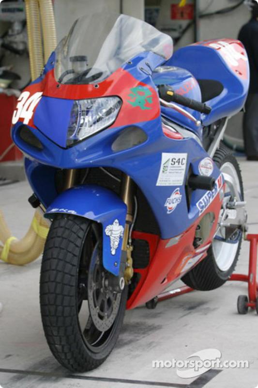 La Suzuki GSXR de Moto and Co Performance