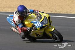La Suzuki GSXR n°18 du Probac Team Suzuki (Jean-Louis Lhuilier, Timothé Lhuilier)