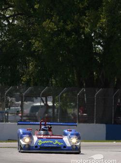 La Riley & Scott MKIII C/Elan n°33 du Intersport Racing (Michael Durand, Chad Block, Georges Forgeois)