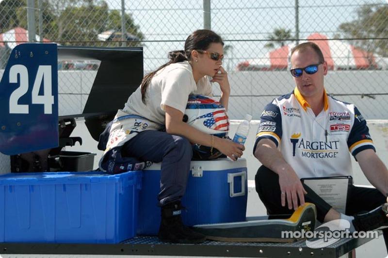 Em 2004, durante prova da Fórmula Atlantic em Long Beach