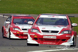 James Thompson and Yvan Muller