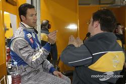 Manuel Reuter and race engineer Jody Eggington
