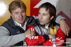 Heinz-Harald Frentzen with OPC Team Holzer director Gunther Holzer