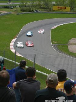 Mont-Tremblant fans watch the race