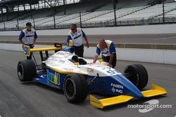 Paul Dana's car to the grid