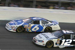 Mark Martin and Ryan Newman