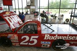 Visit of Hendrick Motorsports: Rick Hendrick's truck