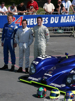 Epsilon Sport Courage Willman with drivers Renaud Derlot, Gunnar Jeannette, Gavin Pickering