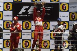 Подіум: 1. Міхаель Шумахер, Ferrari. 2. Рубенс Баррікелло, Ferrari. 3. Такума Сато, BAR-Honda