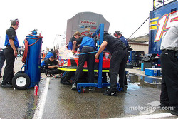 Terry Labonte engine change