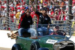 Presentación de pilotos: Gianmaria Bruni y Zsolt Baumgartner