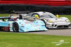 #19 Van der Steur Racing Lola B2K/40 Nissan: Gunnar van der Steur, Erik van der Steur, #63 ACEMCO Motorsports Saleen S7R: Terry Borcheller, Johnny Mowlem