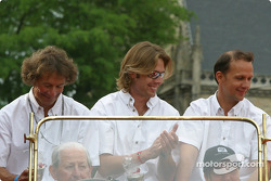 Alexander Frei, Sam Hancock and Jean-Marc Gounon