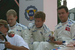 Jorg Bergmeister, Patrick Long and Sascha Maassen