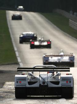 #10 Taurus Sports Racing Lola Caterpillar: Phil Andrews, Anthony Kumpen, Calum Lockie