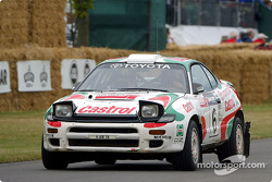 Juha Kankkunen is re-united with his 1993 Toyota Celica ST185