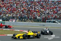 Giorgio Pantano and David Coulthard