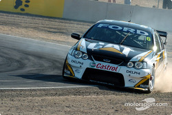 Craig Lowndes runs wide