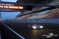Audi R8 on the new Shanghai International Circuit