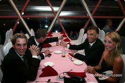 DTM Gala in Oriental Pearl Tower: Christijan Albers