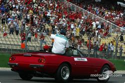 Drivers parade: Felipe Massa