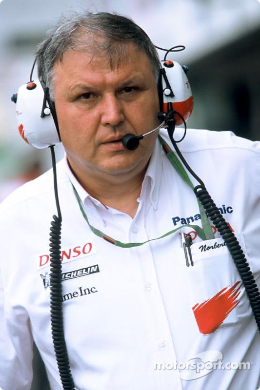 Norbert Kreyer, de Toyota