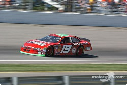 #19 Jeremy Mayfield qualifies for the Brickyard 400