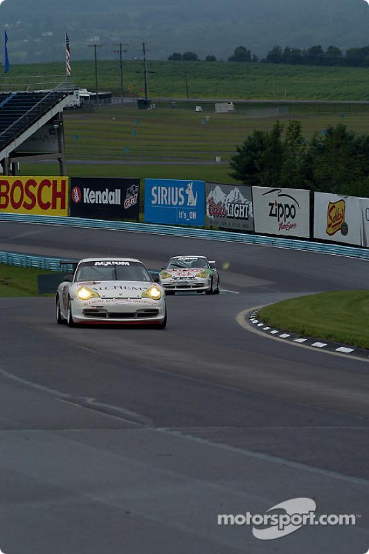 La Porsche GT3 Cup n°73 du Baldwin-Tafel Racing (Jim Tafel, Jack Baldwin)