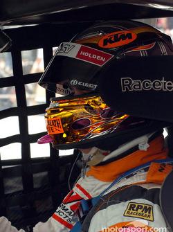 Paul Weel prepares for race 1