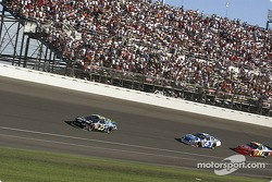 Brian Vickers leads Mark Martin