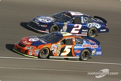 Terry Labonte and Rusty Wallace