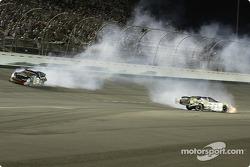 Dale Earnhardt Jr. gets together with Ken Schrader